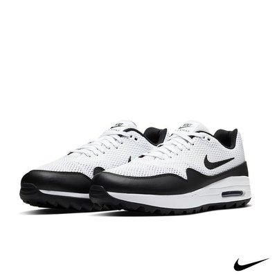 Nike Air Max 1 G 男款軟釘高爾夫球鞋 CI7576-100(黑白)
