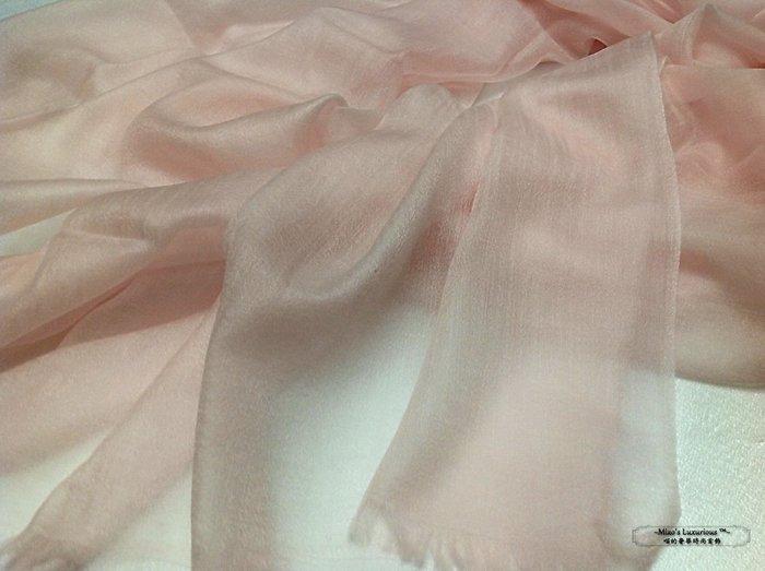 100% cashmere 夢幻裸粉--300支pashmina Shahmina全賣場同價位任選2件4000送洗劑