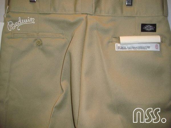 「NSS』Bedwin Julien x Dickies TC Pants 874 工作褲 刺繡 卡其 鐵灰 L