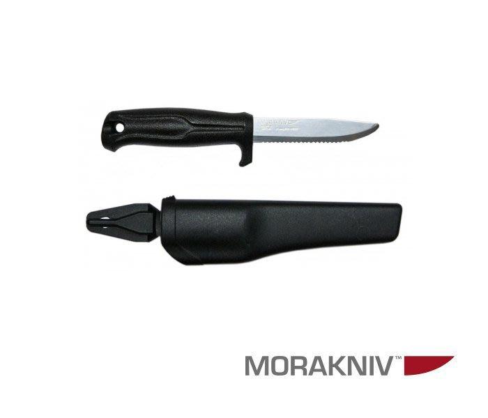 丹大戶外用品【MORAKNIV】瑞典510 高碳鋼直刀 黑 11732