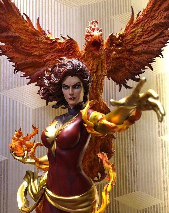 【預購】GK定制,Marvel,漫威X戰警,黑鳳凰,Dark,Phoenix手辦雕像擺件  1/4尺寸,高約73CM