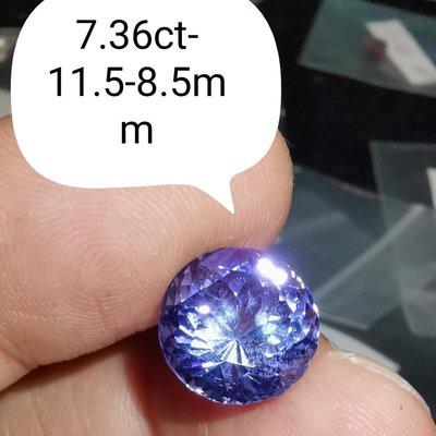 💖玉殿珠寶💖天然坦桑石丹泉石7克拉