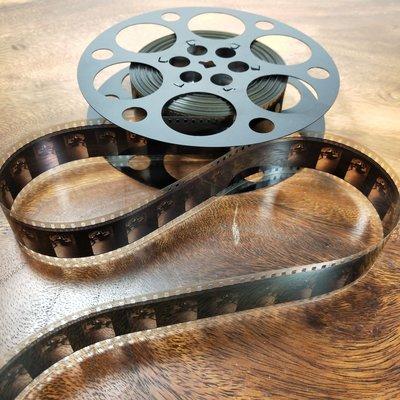 百寶軒 懷舊老電影7寸35毫米35mm電影膠片片夾直徑17.8釐米 ZG1007