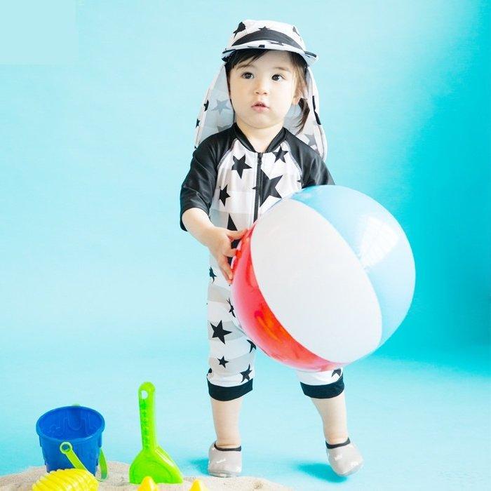 遮陽帽兒童泳衣小中童速干男生童泳裝防曬寶寶中大男生童溫泉泳衣泳下著