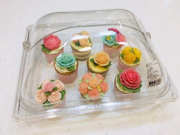 *愛焙烘焙* PC展示盒 透明 展示 掀蓋 杯子蛋糕 340-8210