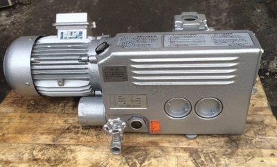 德國BUSCH RC 0040 2HP單級旋片式真空幫浦/真空機---真空包裝/加工物保持可用(外匯品)
