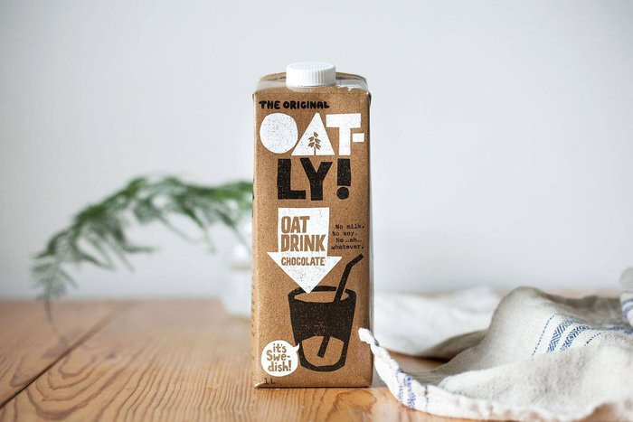 |瑞典 OATLY 巧克力燕麥奶-1L |-  穀華記食品原料