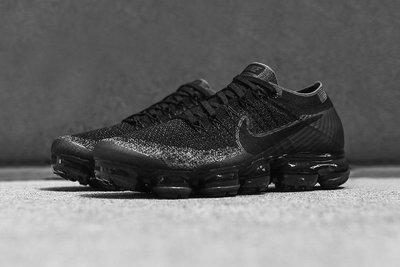 Nike Air VaporMax Triple Black 849558-007全黑魂編織全氣墊襪套慢跑鞋輕量GD