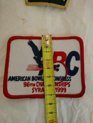 American bowling congress熱貼布標