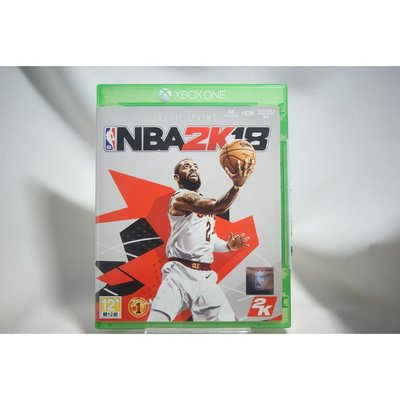 [耀西]二手 亞版 XBOX ONE 美國職業籃球 NBA 2K18 中文版 含稅附發票