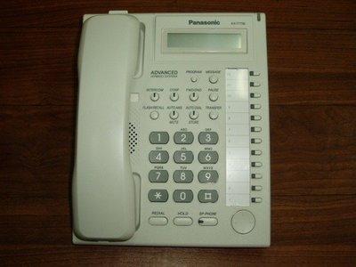 國際牌Panasonic-TES/TEM總機系統電話=KXT7730/KX-T7730X/KX-T7750/KXT7750X=顯示/標準型話機=