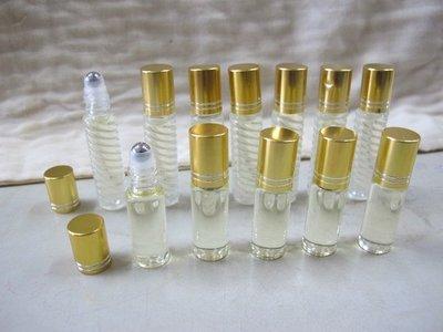 二手舖 NO.2056 台灣檜木天然精油 5ml裝 不鏽鋼鐵珠滾珠瓶 自己提煉