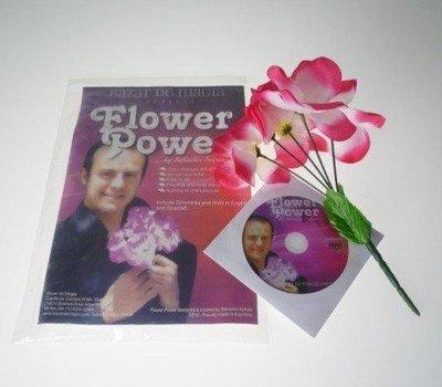 【意凡魔術小舖】Flower Power (DVD and Gimmick) by Ba花之力量 魔術道具批發 才藝表演