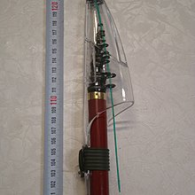 已賣出,待改其他商品,請勿下標,謝 采潔 日本二手外匯釣具GAMAKATSU1.5-53  17.5尺 磯釣竿  R15