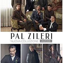 原價十萬 歐洲奢侈品牌 Pal Zileri 黑色長大衣