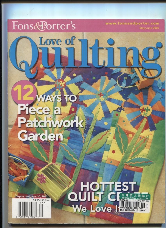 紅蘿蔔工作坊/美國拼布書=Love of Quilting~~2005年6月