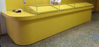 全ㄧ@L型玻璃櫃,展示櫃.手機櫃.珠寶櫃.台灣彩卷櫃檯.吧檯.威力彩,大樂透.運彩.刮刮樂櫃台