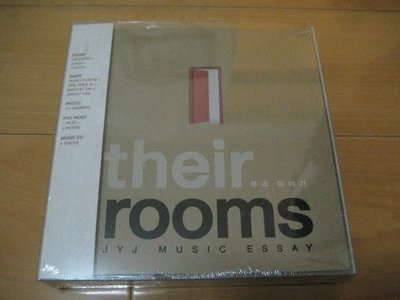 韓版 JYJ【Their Rooms,我們的故事JYJ Music Essay】CD 金在中 朴有天(成均館緋聞) 金俊秀