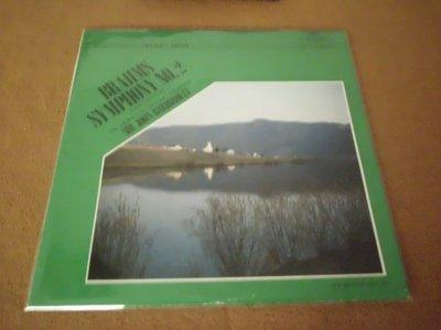 【杜比唱片】 黑膠唱片 ~   巴比羅利指揮  //  布拉姆斯2號交響曲      (日版)  *** LP ***
