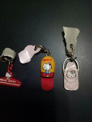 Hello Kitty 夾子,脫鞋,手機袋吊飾可當項鏈及手機吊飾下標告知那個,每個含郵199