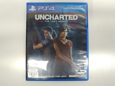 【米舖GAME】 9成新 PS4 Uncharted The Lost Legacy 秘境探險 失落的遺產 行貨 中文