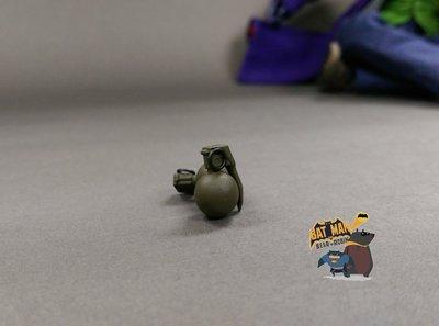 [熊拍賣] 1:6 手榴彈 正版 Hot Toys  MMS249 小丑2.0 搶匪版 JOKER  手榴彈 HT