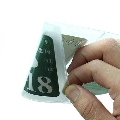 「尚尚小鋪」 汽車保險貼年檢貼非靜電免撕袋車標志年審貼強制險車前擋風玻璃貼G5L6