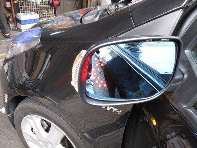 (柚子車舖) 2008~2013 ALTIS 10代/10.5代 鍍鉻雙箭頭LED方向燈後視鏡片 -可到府安裝 b