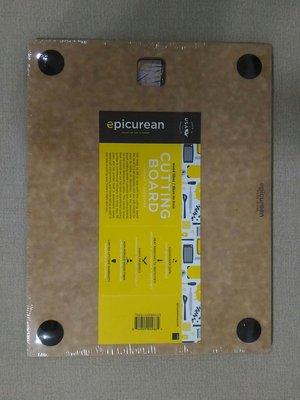 【美國原裝epicurean】防滑系列環保砧板S-原木色(防滑圓點止滑款砧板)
