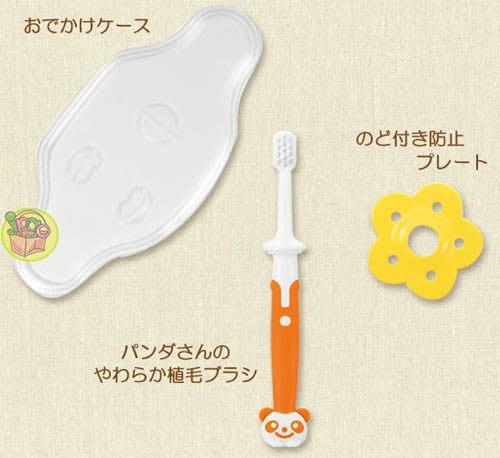 【JPGO 日本購】日本進口 Richell 利其爾 乳齒訓練牙刷~第一階段#305/第二階段#404/第三階段#503
