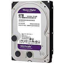電腦配件 WD/西部數據 WD60EJRX 6TB西數紫盤監控錄像專用臺式電腦機械硬盤解憂大鋪子