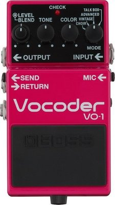 ☆ 唐尼樂器︵☆ BOSS VO-1 Vocoder 聲碼器 人聲 效果器 VO-1