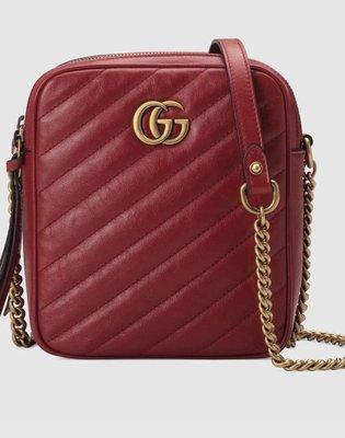 [Ohya精品代購] 2019 全新代購 Gucci 古馳GG Marmont mini 肩背包 550155