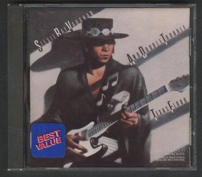 ///李仔糖CD唱片*1983年美國版.史提夫雷范TEXAS FLOOD二手CD