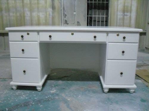美生活館-- 全新鄉村/古典實木 家具-- 客訂 辦公桌 書桌 ( 大型 ) --可訂色訂尺寸