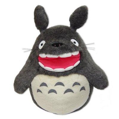 JP購✿15040400017 經典絨毛娃LL 大龍貓露齒吠叫 宮崎駿 龍貓 TOTORO 娃娃 玩偶 吉卜力 日本正版