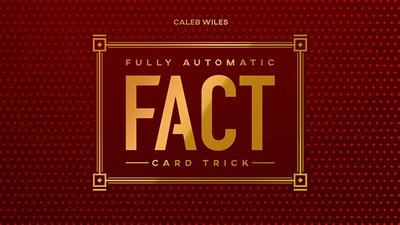 [魔術魂道具Shop]Fully Automatic Card Trick by Caleb Wiles