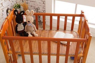 【鹿港竹蓆】11mm 碳化 竹蓆(涼蓆.草蓆) 嬰兒床  130CM X 70CM 100% 台灣製造 MIT  附收納袋