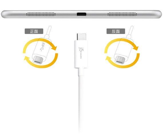 【開心驛站】凱捷 j5 create JUCX07 USB3.1Type-C to USB3.0Micro-B傳輸線