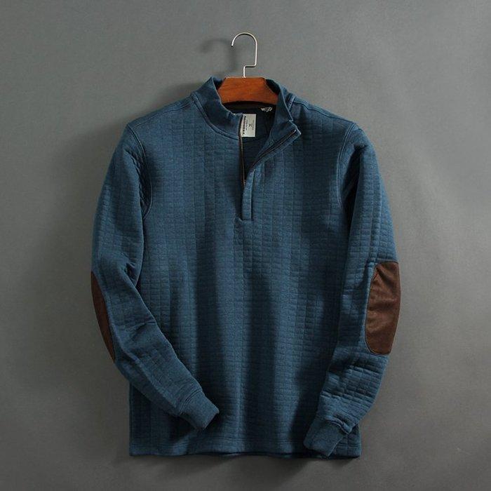 香港OUTLET代購 休閒夾棉上衣 男士立領 衛衣 拼接 YKK拉鍊 保暖防寒 毛衣 棉衣 歐美風格 獵人裝 外套 夾克