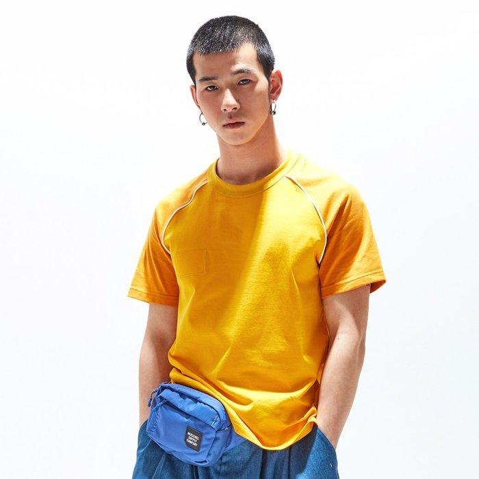 【OTOKO Men's Boutique】固制:長絨棉插肩短袖/黃色(台灣獨家代理)
