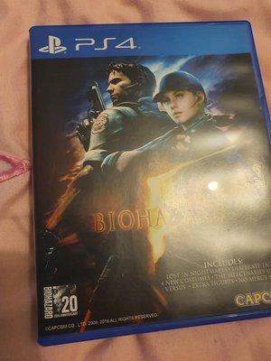 PS4 惡靈古堡5 亞洲英文版 二手品