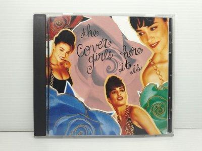 【樂購音樂館】美國女子團體The Cover Girls~Here it is~原版CD無ifpi