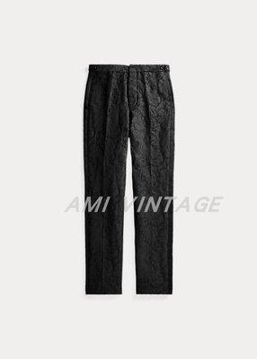 【預代購】RRL Slim Fit Jacquard Tuxedo Trouser