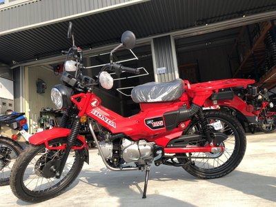 【Moto Dream】HONDA CT125 Hunter Cub 熱情紅 全新車