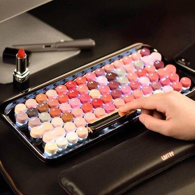 lofree洛斐 綻放圓點藍牙無線機械鍵盤 適用蘋果MAC遊戲鍵盤 復古鍵盤
