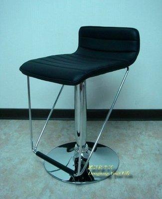 【設計私生活】B50黑色皮質吧檯椅(全館一律免運費)157