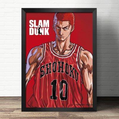 現代裝飾畫海報動漫周邊灌籃高手井上雄彥SLAM DUNK(不含框)