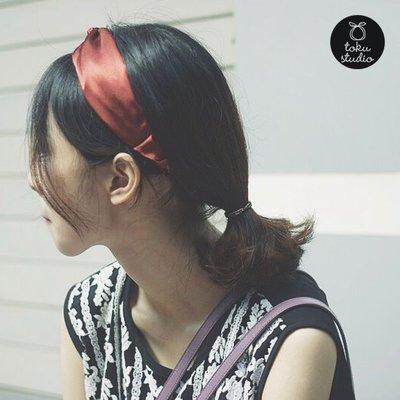 My fit guys春夏新款 單色 光感 簡約 文藝款 交叉 髮帶 髮箍 頭飾 寬邊 髮飾 5款 預購