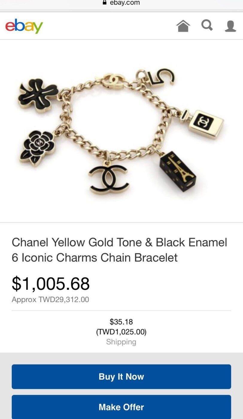 chanel ginza vip 香奈兒東京銀座限量手鍊 手鏈 吊飾
